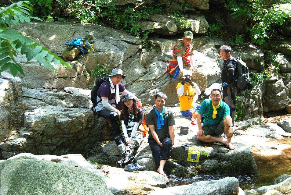 2016.6.19(周日)五龙山遇龙谷登山远足,和大自然来一场约会。