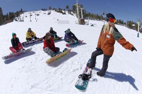 揭秘单板滑雪的肌肉运用 你滑完为何大腿酸疼?